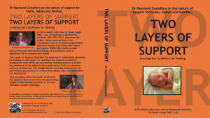 DVD Two Layers of Support, Produced by Elmer Postle and Owl Productions, UK
